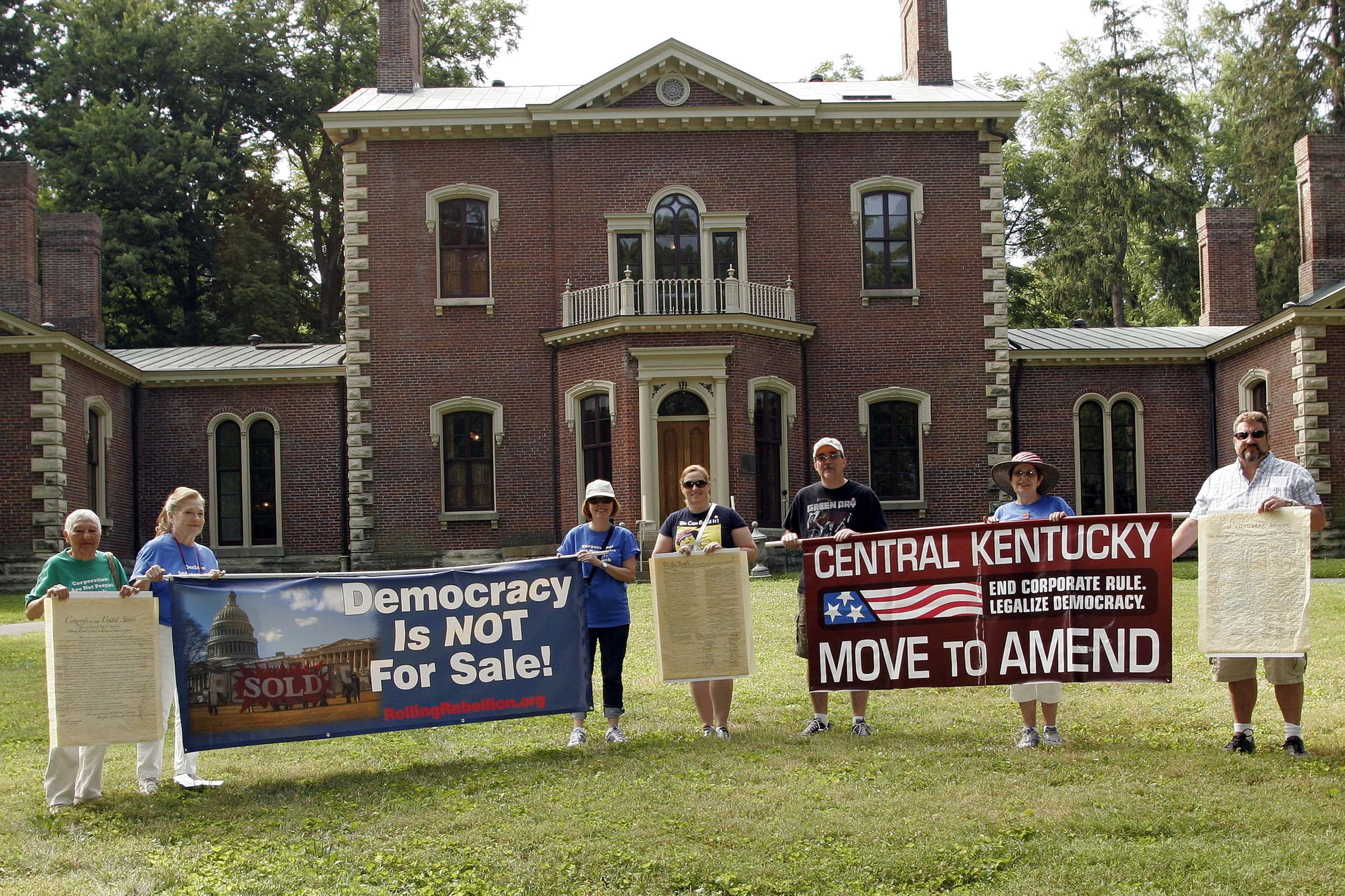 Central Kentucky Marches For Real Democracy