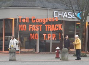 tpp bannering and fliering bellingham